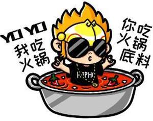 老子吃火锅你吃火锅底料是什么意思